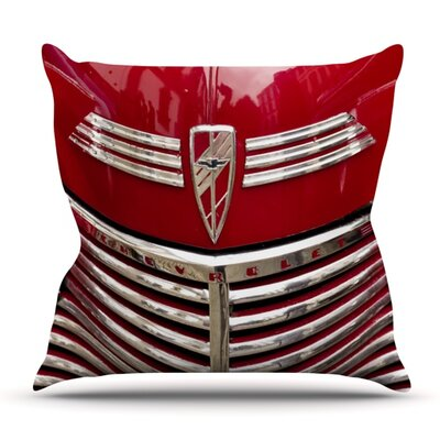 Chevy by Ingrid Beddoes Outdoor Throw Pillow