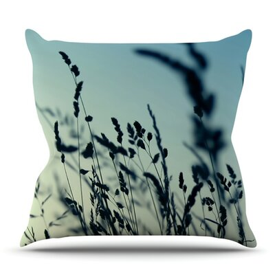 Cool Breeze by Ingrid Beddoes Outdoor Throw Pillow