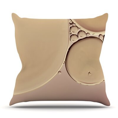 A Touch by Ingrid Beddoes Outdoor Throw Pillow