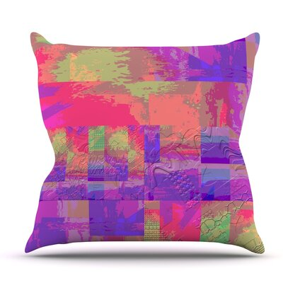 Embossed Impermenance by Nina May Outdoor Throw Pillow
