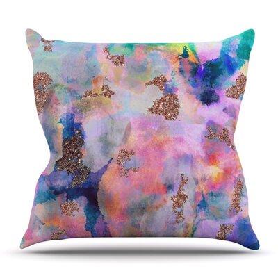 Sparkle Mist by Nikki Strange Outdoor Throw Pillow
