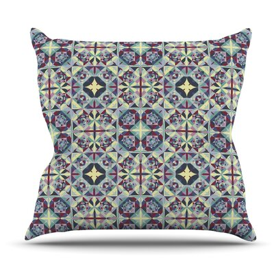 Curiosity by Allison Soupcoff Outdoor Throw Pillow