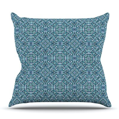 Ocean by Allison Soupcoff Outdoor Throw Pillow