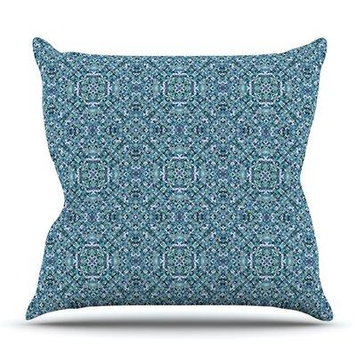 Ocean by Allison Soupcoff Outdoor Throw Pillow