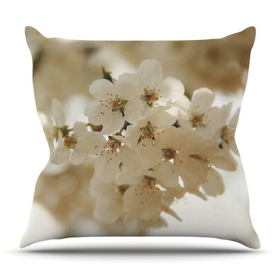 Flowering Pear by Angie Turner Outdoor Throw Pillow