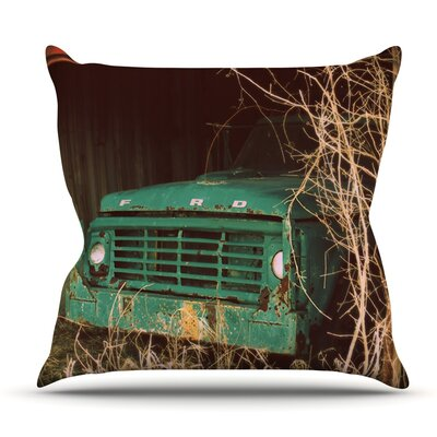 Ford by Angie Turner Outdoor Throw Pillow