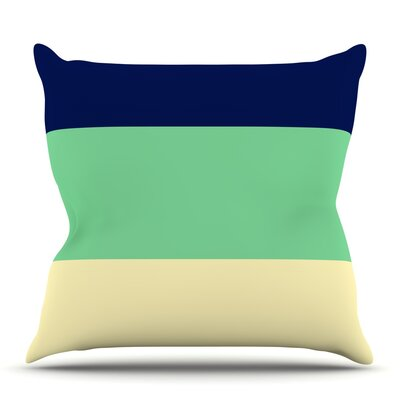 South Pacific by Catherine McDonald Outdoor Throw Pillow