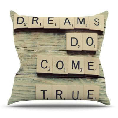 Dreams by Cristina Mitchell Outdoor Throw Pillow