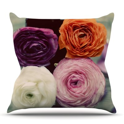 Four Kinds of Beauty by Cristina Mitchell Outdoor Throw Pillow