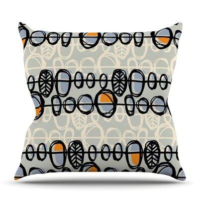 Benin by Gill Eggleston Outdoor Throw Pillow