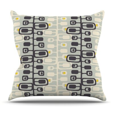 Carnaby by Gill Eggleston Outdoor Throw Pillow