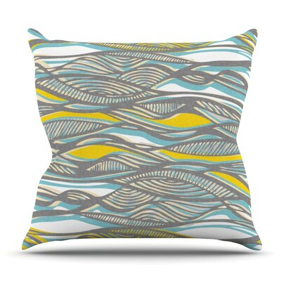 Drift by Gill Eggleston Outdoor Throw Pillow