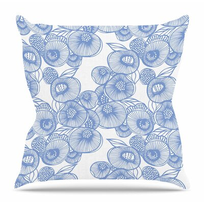 Eastern Promise by Gill Eggleston Outdoor Throw Pillow