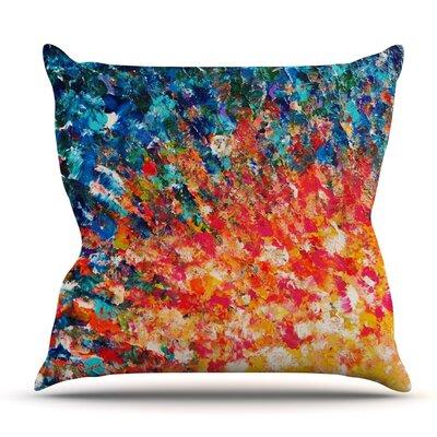 The Clash by Ebi Emporium Outdoor Throw Pillow
