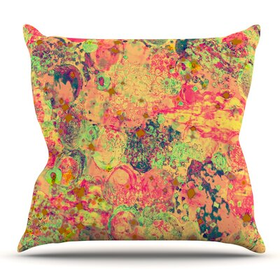 Time For Bubbly by Ebi Emporium Outdoor Throw Pillow