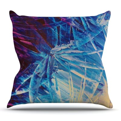 Night Flowers by Ebi Emporium Outdoor Throw Pillow