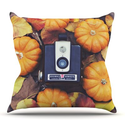 The Four Seasons: Fall by Libertad Leal Outdoor Throw Pillow