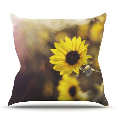 Magic Light by Libertad Leal Outdoor Throw Pillow