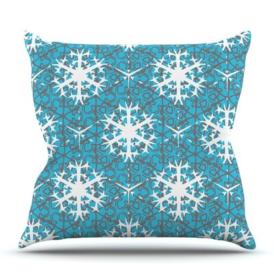Precious Flakes by Miranda Mol Outdoor Throw Pillow