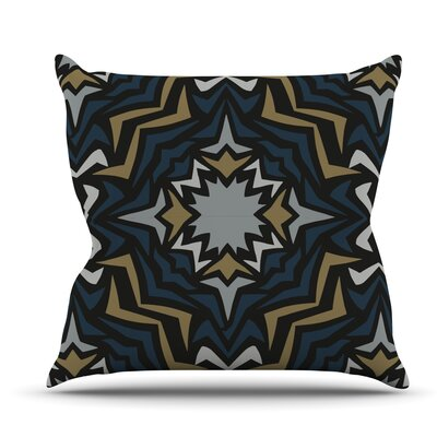 Winter Fractals by Miranda Mol Outdoor Throw Pillow
