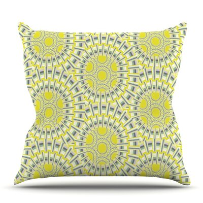 Sprouting Cells by Miranda Mol Outdoor Throw Pillow