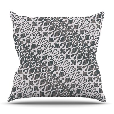 Lace by Miranda Mol Outdoor Throw Pillow