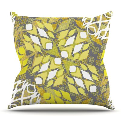 Sandy Signs by Miranda Mol Outdoor Throw Pillow