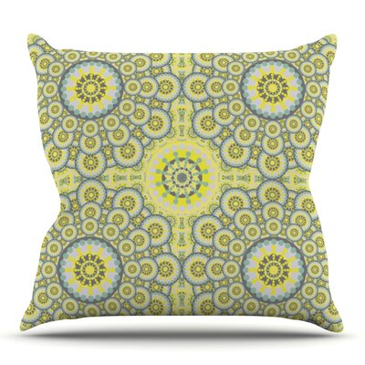 Multifaceted Flowers by Miranda Mol Outdoor Throw Pillow
