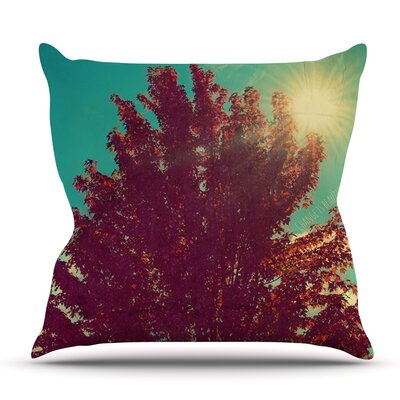 Change is Beautiful by Robin Dickinson Outdoor Throw Pillow