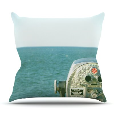 Ocean View by Robin Dickinson Outdoor Throw Pillow