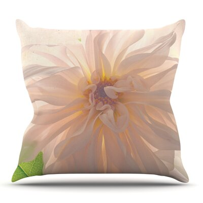 Buy Her Flowers by Robin Dickinson Outdoor Throw Pillow