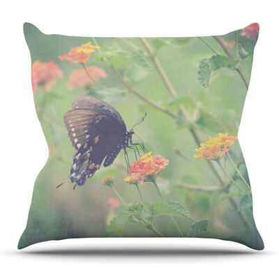 Captivating II by Robin Dickinson Outdoor Throw Pillow