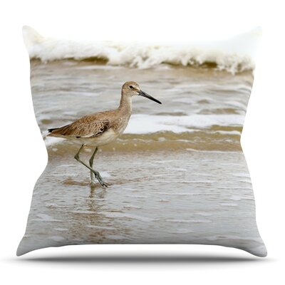 Counting the Waves by Robin Dickinson Outdoor Throw Pillow