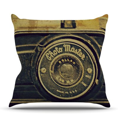 Discarded Treasure by Robin Dickinson Outdoor Throw Pillow