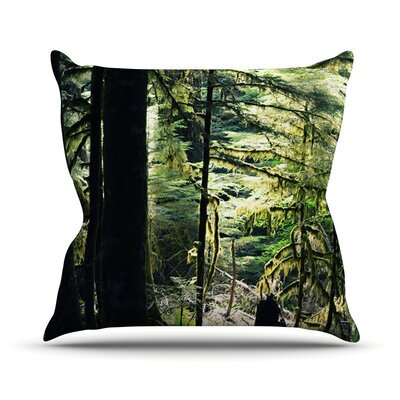 Enchanted Forest Outdoor Throw Pillow