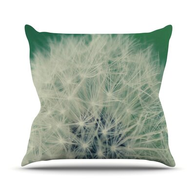 Fuzzy Wishes Outdoor Throw Pillow