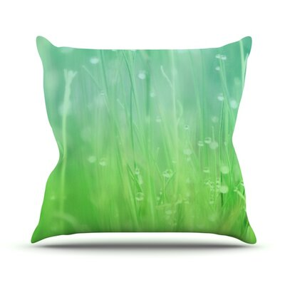 Magic Happens Here by Beth Engel Outdoor Throw Pillow