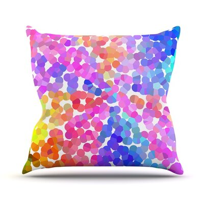 Searching by Beth Engel Outdoor Throw Pillow