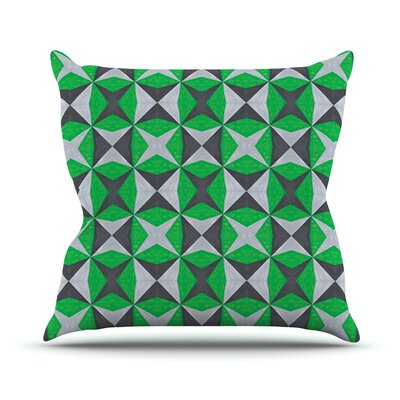 Abstract Outdoor Throw Pillow