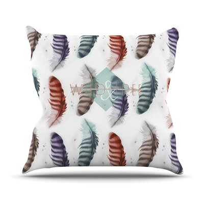 Wildfree Outdoor Throw Pillow