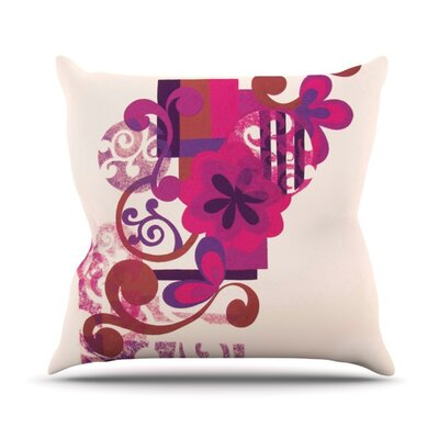 Lilac by Louise Machado Outdoor Throw Pillow