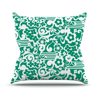 Esmerald by Louise Machado Outdoor Throw Pillow