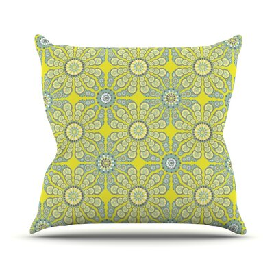 Budtime by Miranda Mol Outdoor Throw Pillow