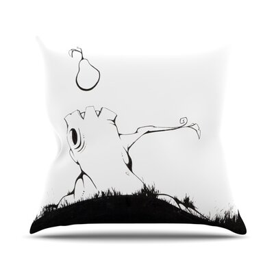 Its Alright by Matthew Reid Outdoor Throw Pillow