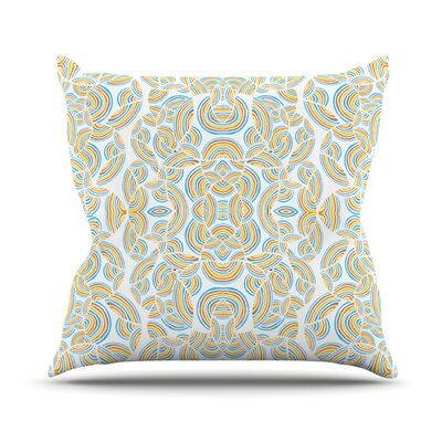 Infinite Thoughts Outdoor Throw Pillow
