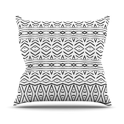 Tambourine by Pom Graphic Design Outdoor Throw Pillow