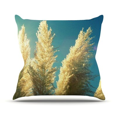 Ornamental Grass by Robin Dickinson Outdoor Throw Pillow