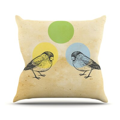 Sreetama Ray Outdoor Throw Pillow