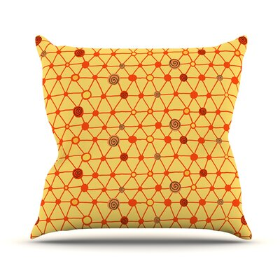 Vintage Playground Outdoor Throw Pillow