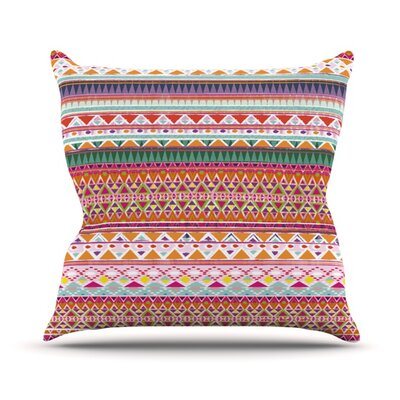 Chenoa by Nika Martinez Outdoor Throw Pillow